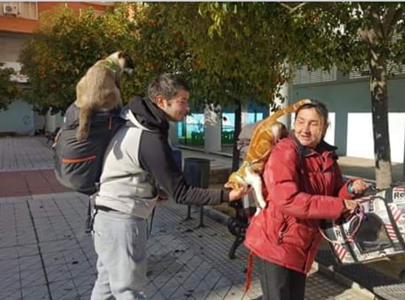 """La Colonia pide """"una oportunidad para Víctor, Piri y sus dos gatos"""""""