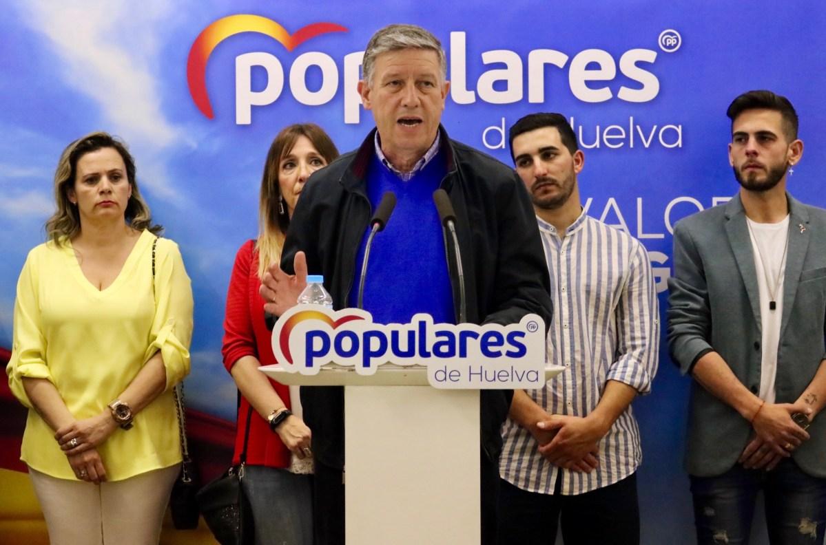 El PP onubense azuza el voto del miedo con los datos falsos de Pablo Casado