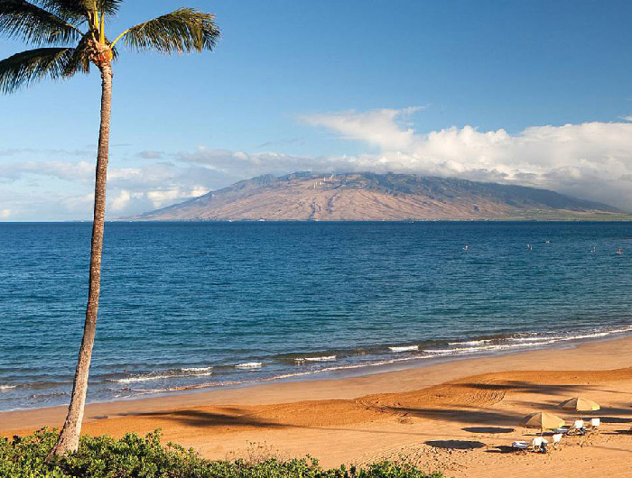 suite romantica de playa en hawaii