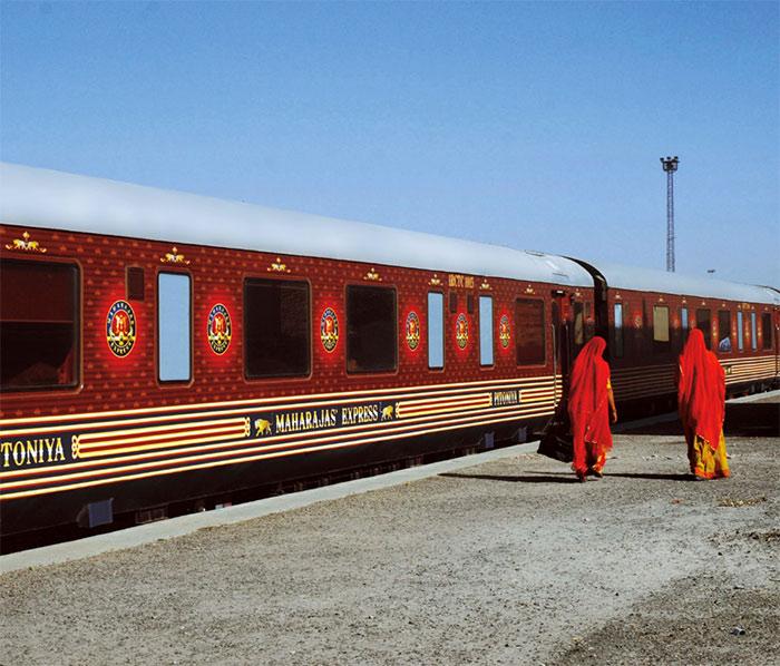 viajes de lujo en tren: maharajas express