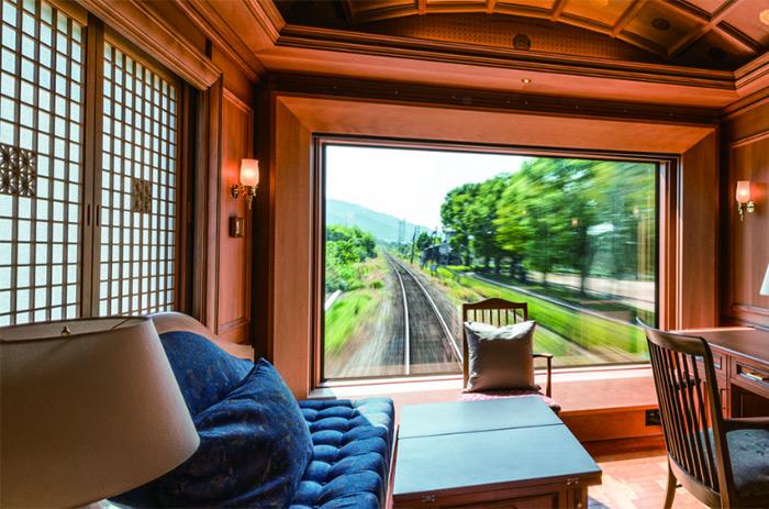 Viajes de lujo en tren, seven stars en japon