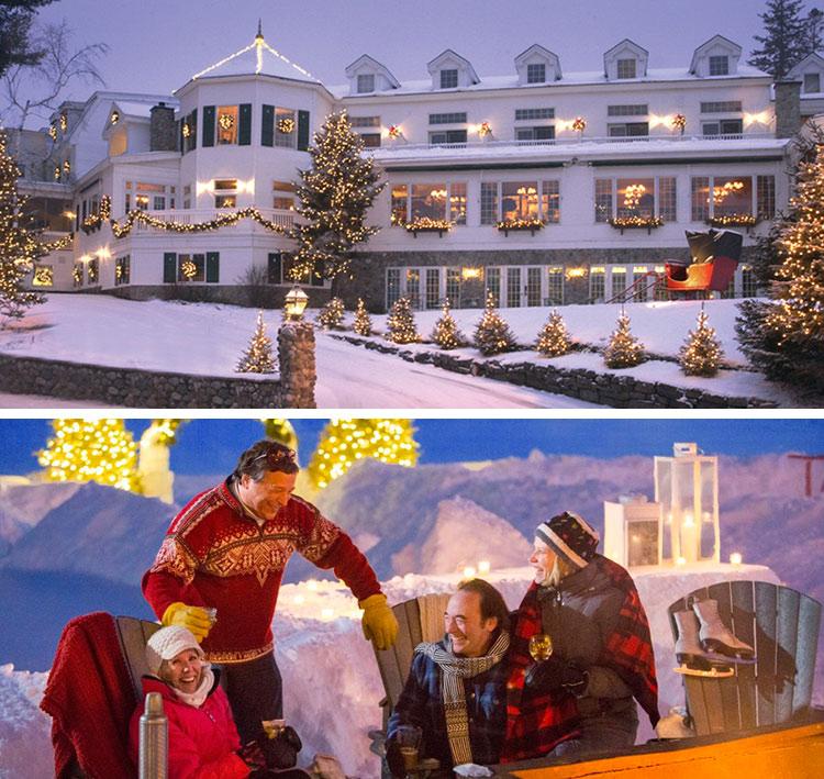 Mirror lake inn, uno de los mejores hoteles de navidad
