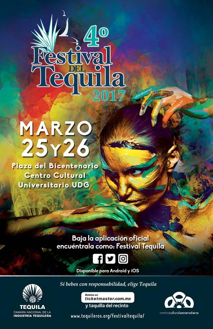 Cuarto festival del tequila en méxico, marzo 2017