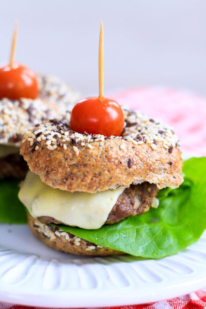 receta de hamburguesas caseras saludables