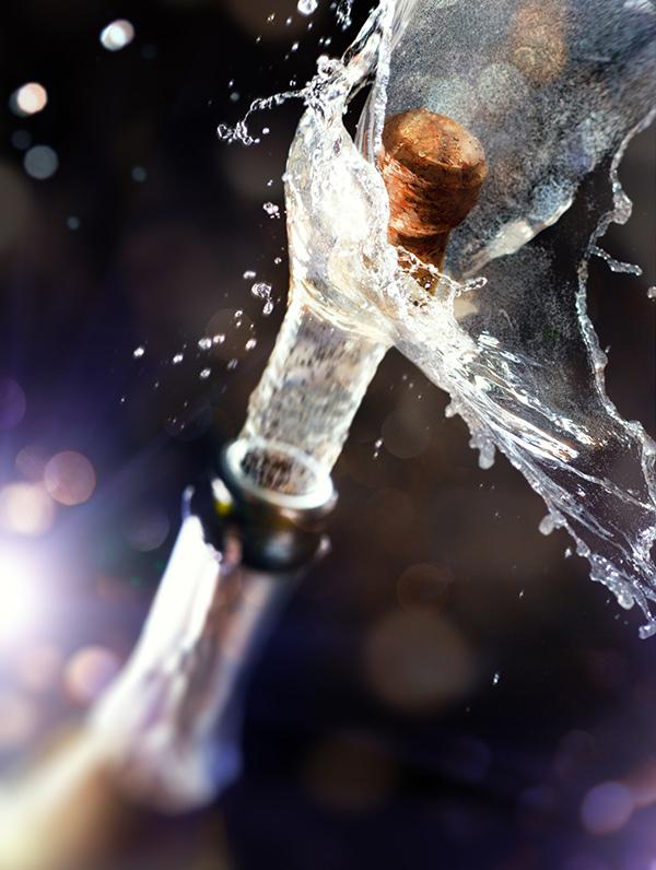 Champagne, uno de los vinos espumosos mas conocidos