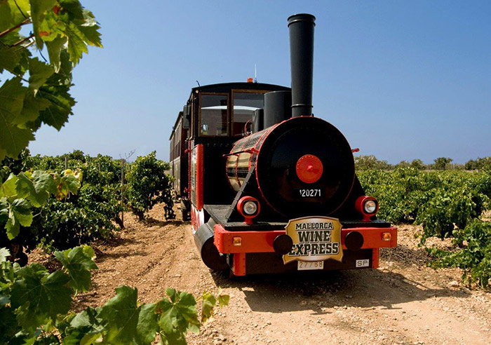 trenes de vino, express mallorca