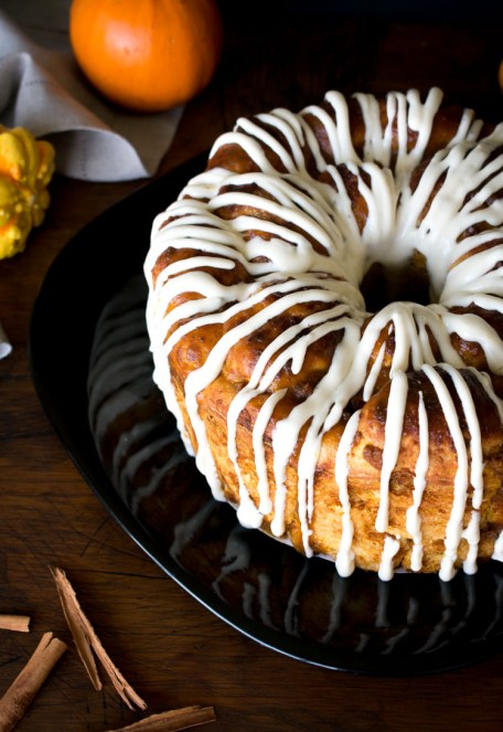 monkey bread de calabaza
