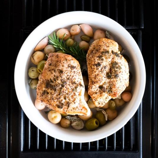 Receta de pollo provenzal al horno en Maria Orsini