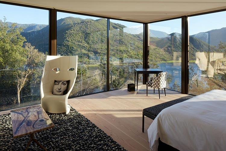 Hoteles viñedo Vik, Chile