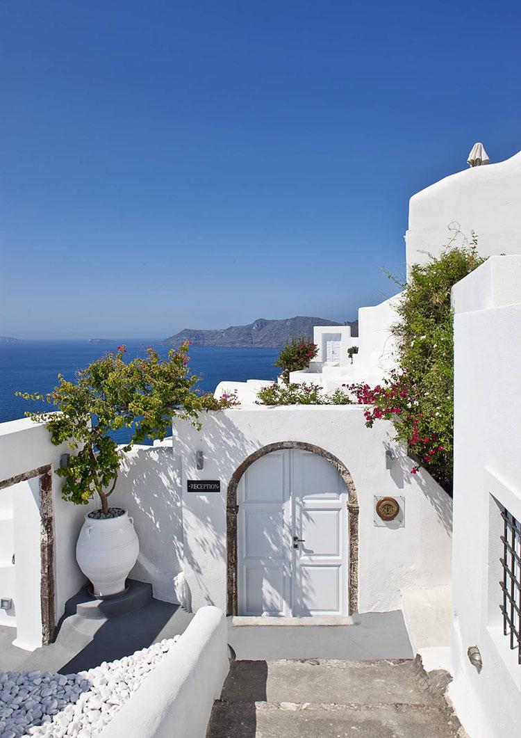 Destinos de verano que son mejores en otoño: Santorini, grecia