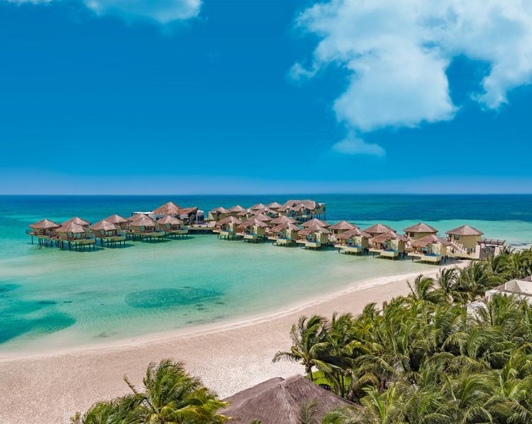Hoteles flotantes: el Dorado maroma, riviera maya