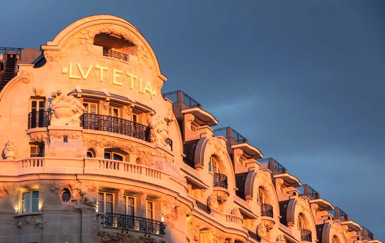 Hoteles  boutique 2018, lutetia paris