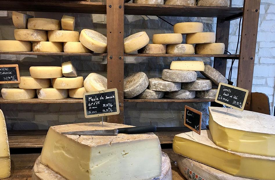 Mercados para los amantes del queso