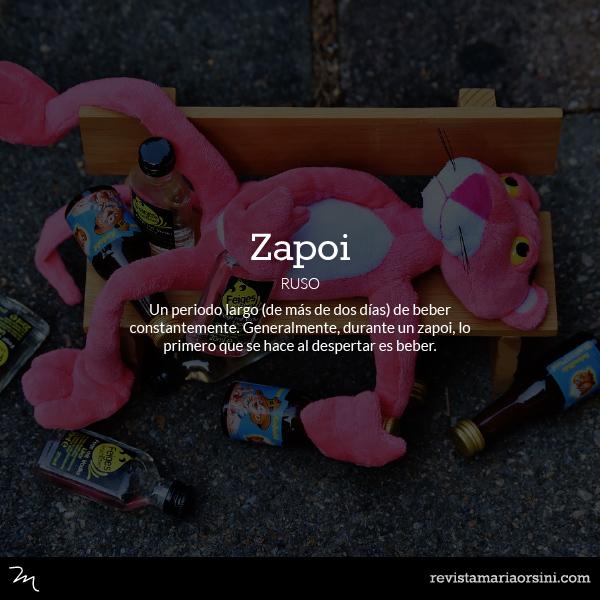 Zapoi - Palabras deliciosas sin traducción