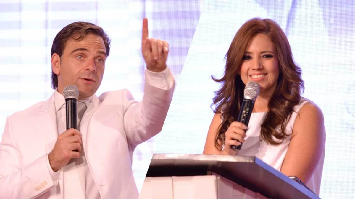 Pastor Alfonso y Sofia Bocache pastores de Tiempos de Gloria. / Fotografía: ActitudNews