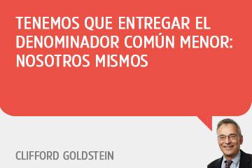 Clifford Godstein - Exclusivo WEB RA