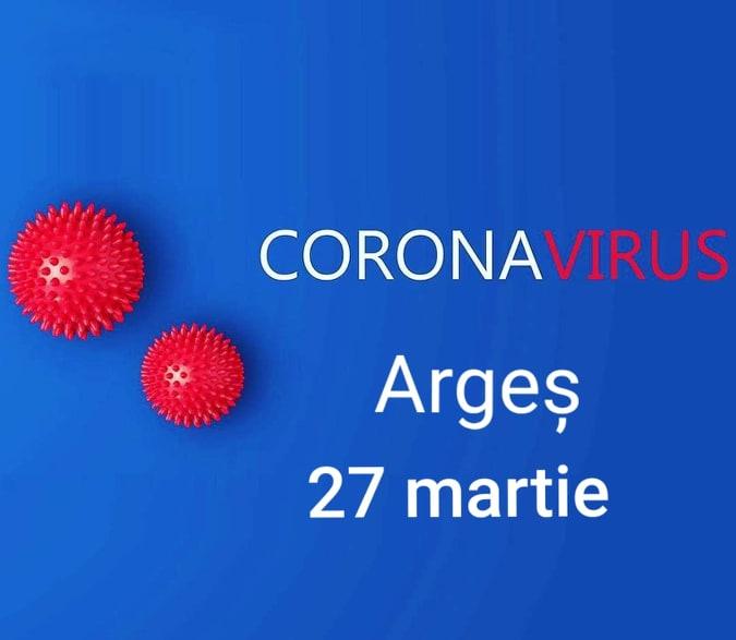 Situația Covid-19 în Argeș la 27 martie 2020 1