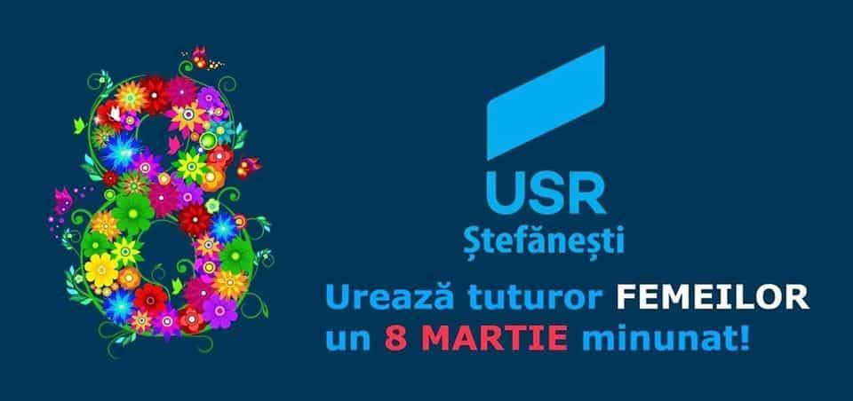 Felicitare - Mihai Diaconu, președinte USR Ștefănești 1