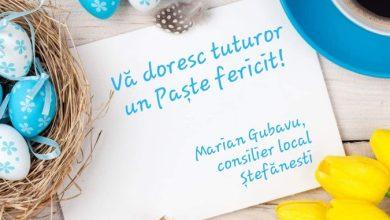 Photo of Felicitare – Marian Gubavu, consilier local Ștefănești