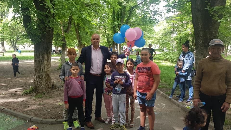 Cel mai mare eveniment de 1 Iunie a fost la Ștefănești 1