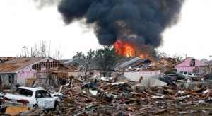 Tornado em Oklahoma - crédito HuffingtonPost