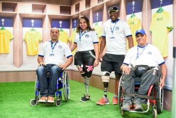 Silvan Braga, Yezza Sousa, Alex Souza e Marcelo Mota