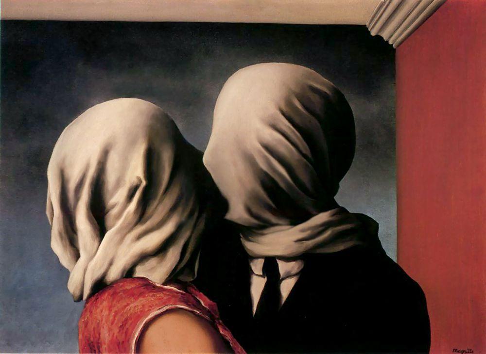 Resultado de imagen de los amantes magritte