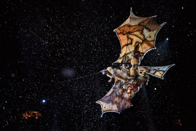 CIRQUE DU SOLEIL: WORLDS AWAY, from Paramount Pictures and James Cameron.