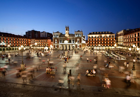 Vida, Plaza Mayor. Valladolid