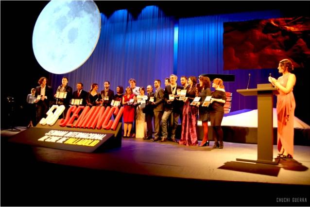Premiados en la 58 SEMINCI en la Gala de clausura.
