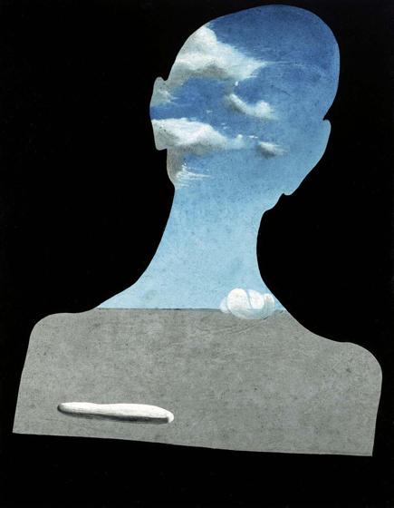 Hombre con cabeza llena de nubes, c. 1936. Dalí. Fundación Gala-Salvador Dalí, Figueras