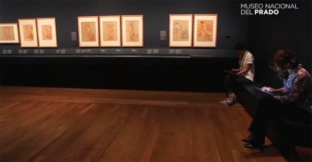 Museo-del-Prado-Exposicion-Roma-en-el-bolsillo-tablet-Samsung