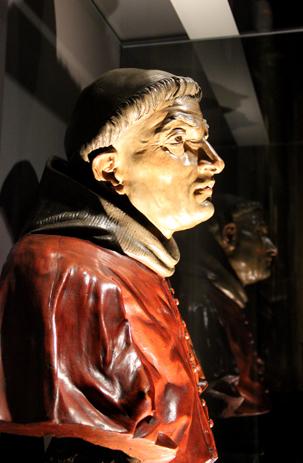 Busto del Cardenal Cisneros. Juan Alonso de Villabrille. Siglo XVIII. Universidad Complutense de Madrid