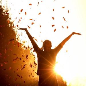 Alegria de viver, força para suportar os sofrimentos
