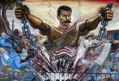 Conoce la casa donde naci emiliano zapata revista for Emiliano zapata mural