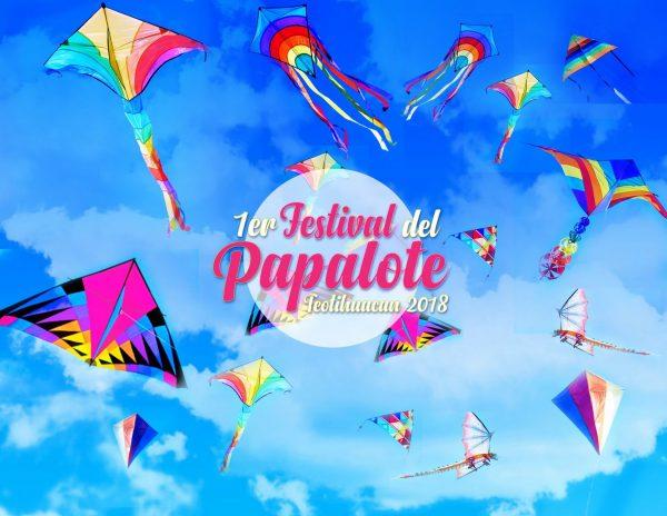 PRIMER FESTIVAL DEL PAPALOTE EN TEOTIHUACAN