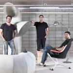 El trío de FGMF Arquitectos: Ferrnando Forte, Lourenço Gimenes y Rodrigo Marcondez Ferraz.