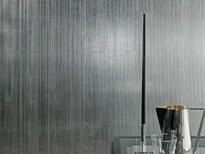 Revestimiento Ornament por Architectural textiles, en el Surface design show- London, 2015.