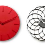 Relojes de la marca de diseño BoConcept, en el Bogotá Design Festival, 2015.