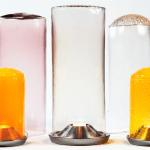Boda, pieza de la exposición Glass is tomorrow, por Nathalie Dewez, en la bienal internacional de diseño de Saint-Etienne, 2015.