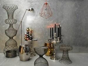 Cooper & Bronze collection, por la firma francesa Amara, en el Maison & Objet Paris, enero de 2015.