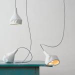 Lámpara por dlf productdesigner, participantes en el BlickFang 2015.