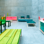 Nueva serie Resin de mobiliario por Jo Nagasaka para Established and sons, finalista en el Design of the year 2015.