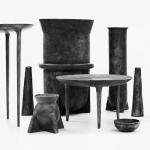Mobiliario, accesorios y diseño minimalista presentado por el estudio del diseñador Lucas Machnuk Design, LMD Studio, en el Collective Design 2015.