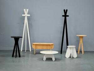 Colección Plural del diseñador Danilo Calvache, danilo calvache/design studio. Finalista en la categoría de mobiliario de los Premios Lápiz de Acero 2015.