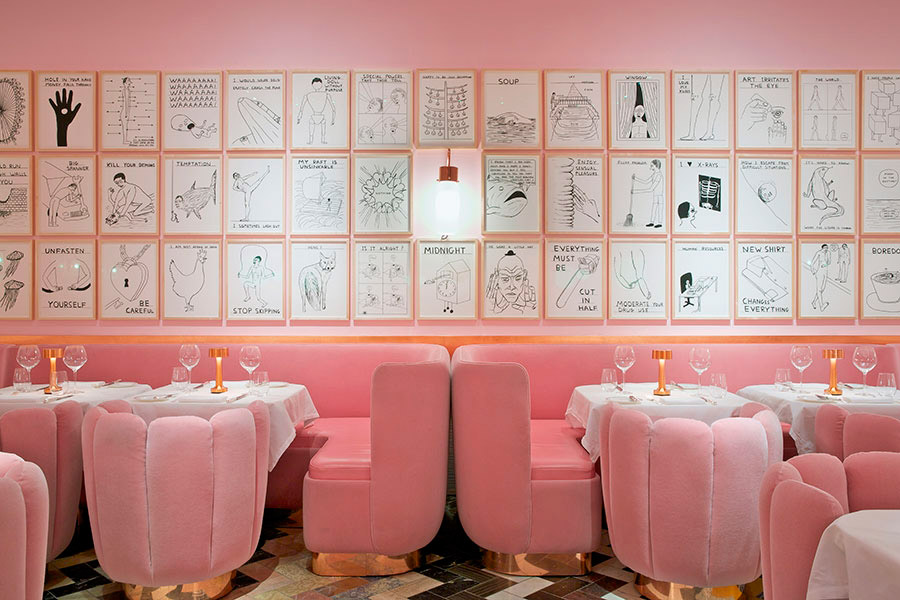 Restaurante Sketch en Londres.