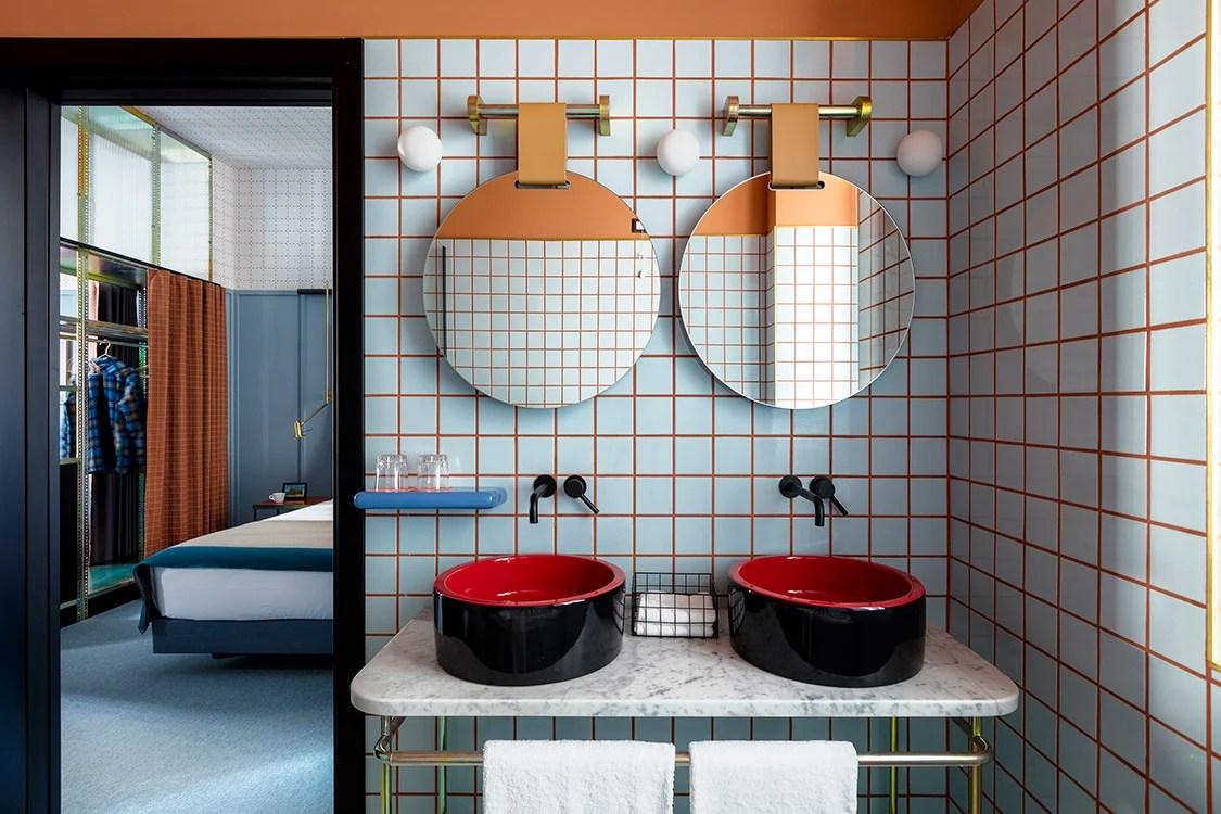 Hotel Giulia, diseño de Patricia Urquiola. Foto: patriciaurquiola.com