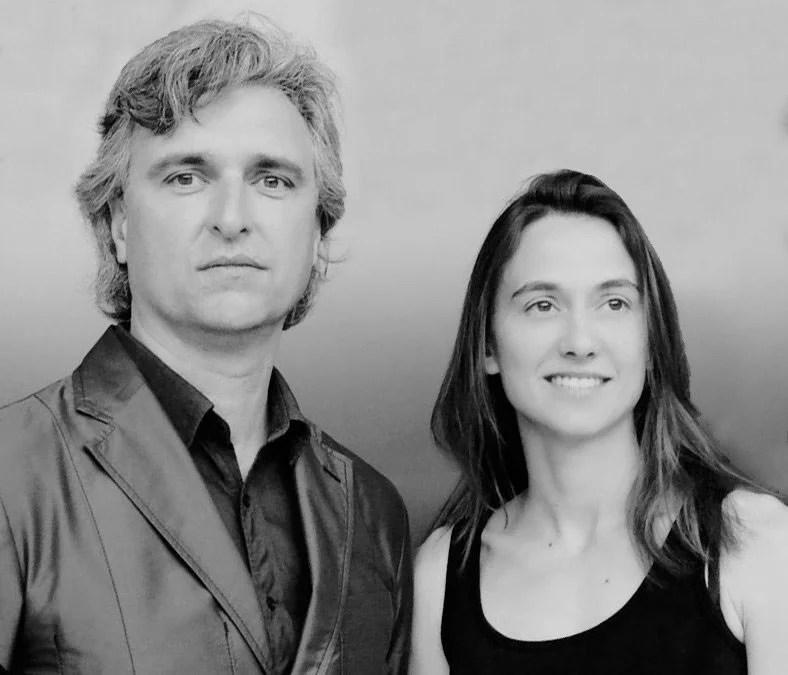 Los arquitectos Antón García-Abril y Débora Mesa, directores de ensamble studio.