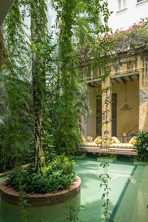 Casa colombiana de descanso en Cartagena