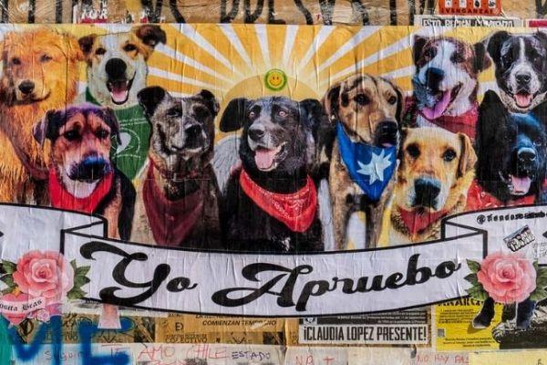 El arte urbano en el estallido chileno